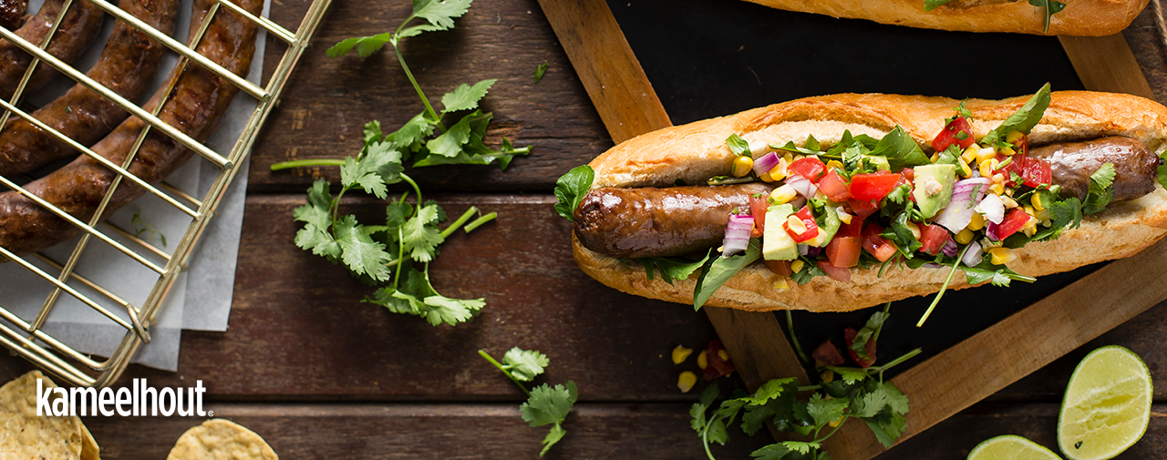 THE ULTIMATE KAMEELHOUT® BOEREWORS ROLLS
