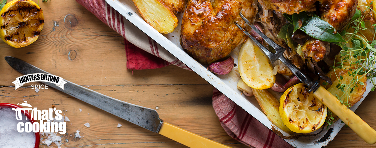 PERFECT ROAST CHICKEN WITH ROASTED POTATOES