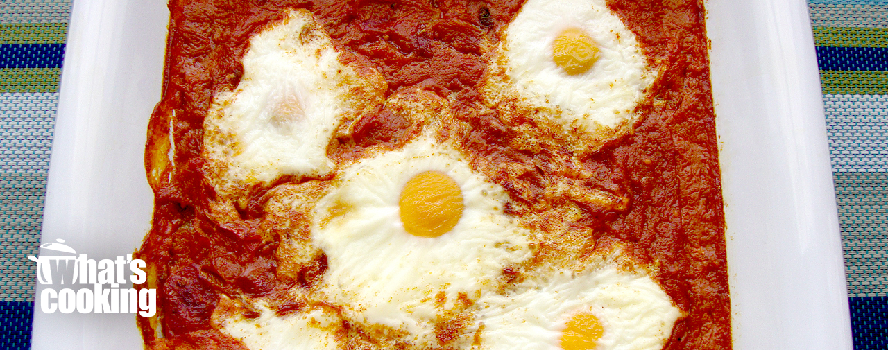 Chakalaka eggs