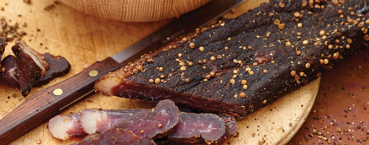 A brief history of biltong