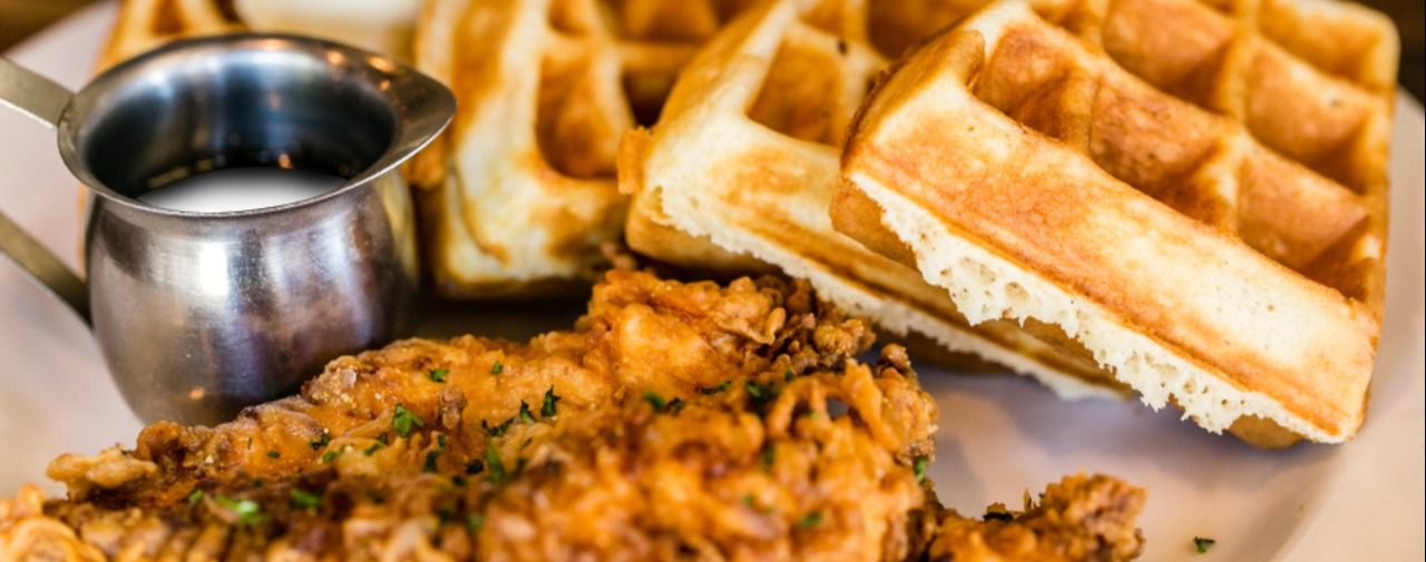 Simply sweet batter – country fried chicken waffles