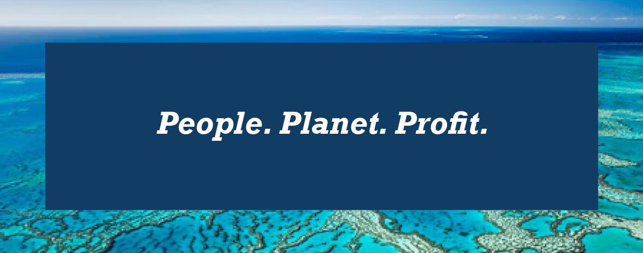 People. Planet. Profit.