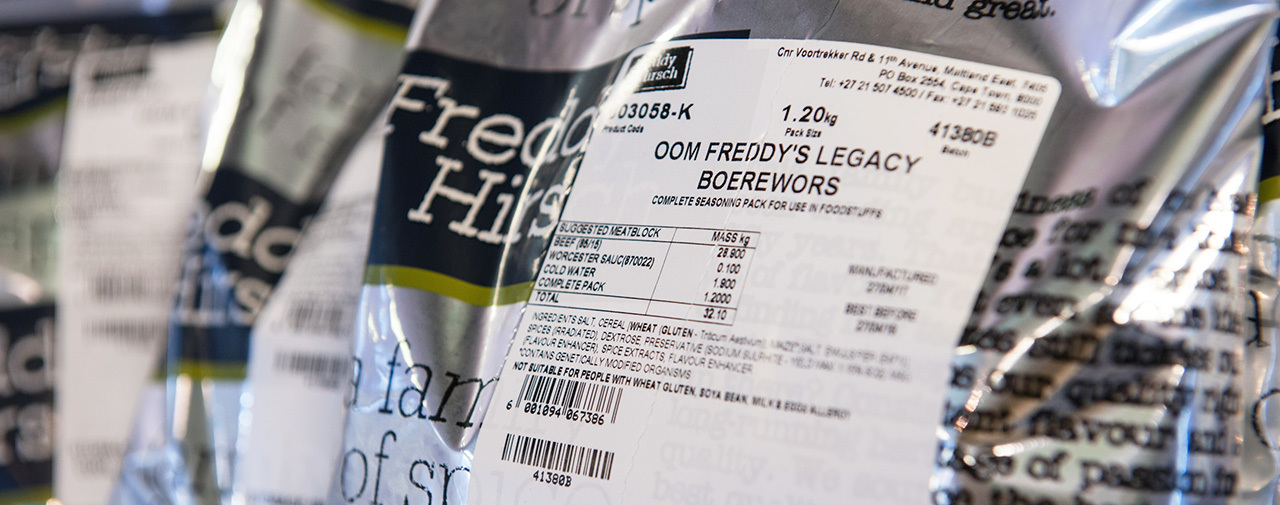 A guide to understanding Freddy Hirsch product labels
