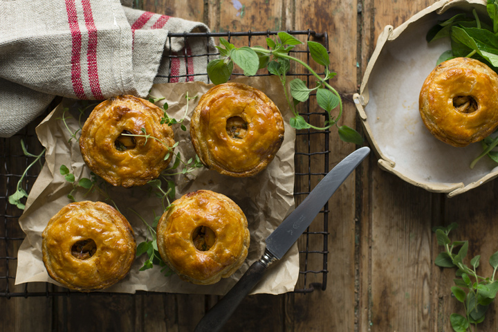 PERI-PERI ROASTED CHICKEN POT PIES