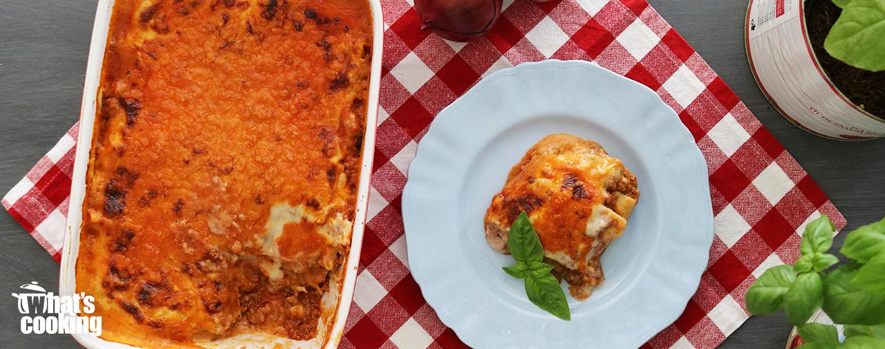 What's Cooking™ Venison Lasagne