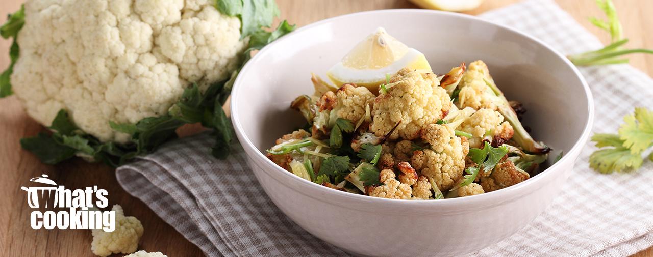 Roasted Cauliflower, Lentil & Feta Salad