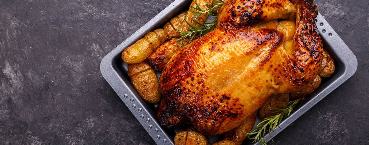 What's Cooking Perfect Roast Chicken with Roasted Potatoes