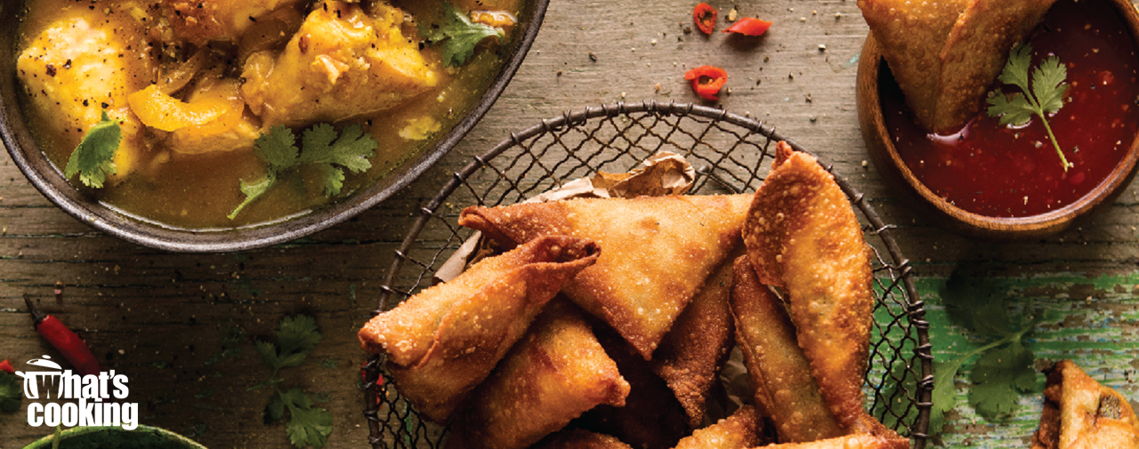 Pickled Fish and Samosas
