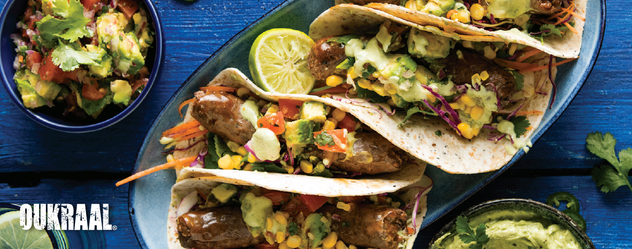 Superb Oukraal® Griller Soft Tacos with Crunchy Coleslaw