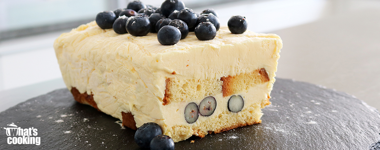 Frozen Custard & Blueberry Loaf