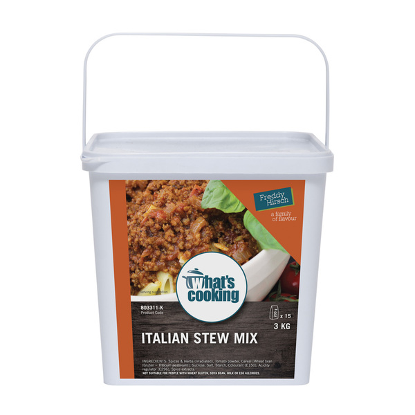 What's Cooking Italian Stew Mix Tub