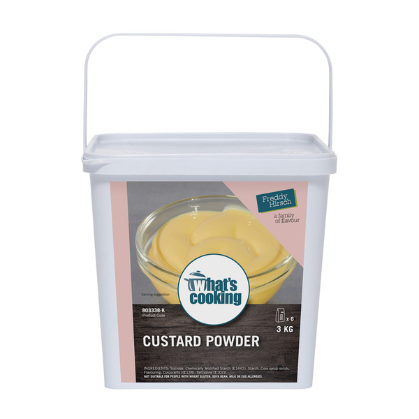 What's Cooking Custard Powder Tub