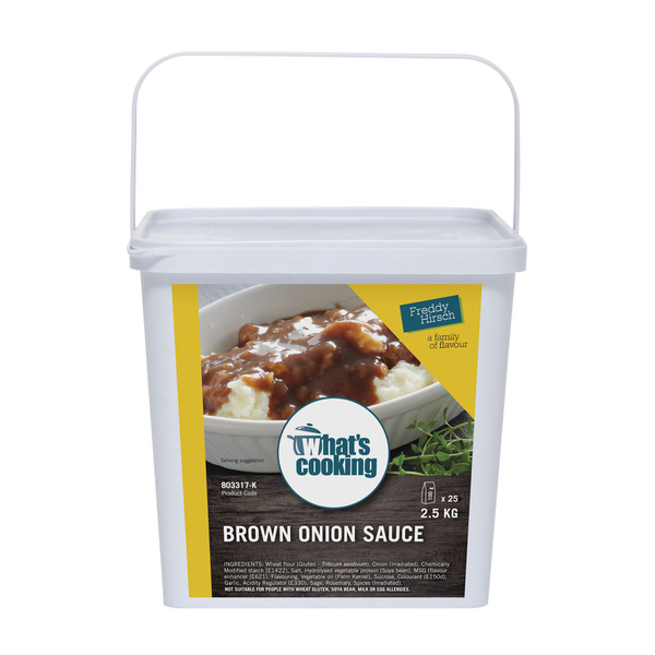 What's Cooking Brown Onion Sauce Tub