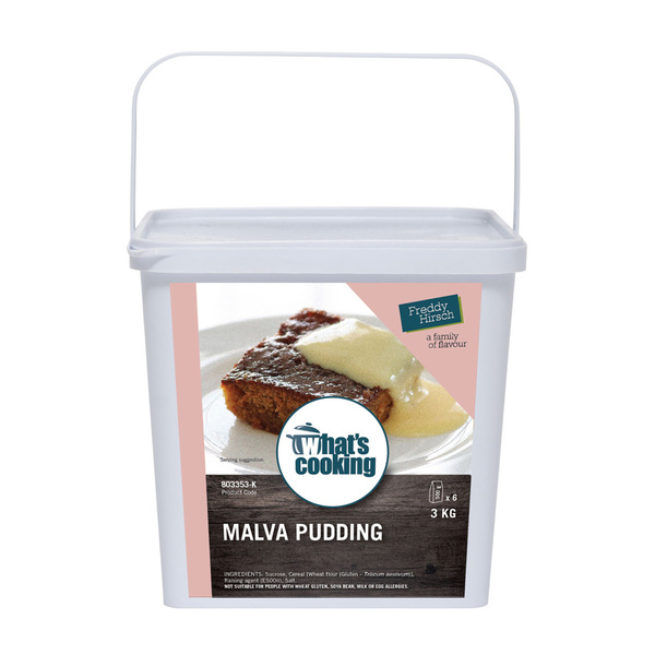 What's Cooking Malva Pudding Tub NF