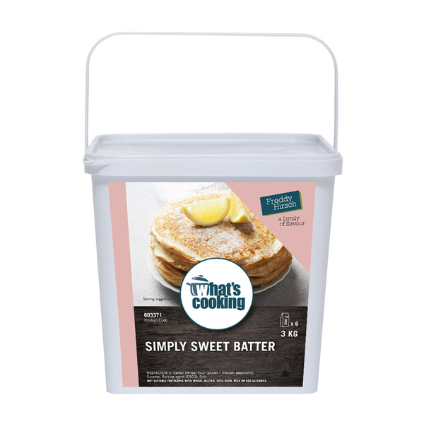 What's Cooking Simply Sweet Batter Tub