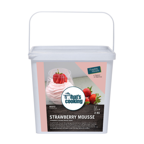 What's Cooking Strawberry Mousse Tub