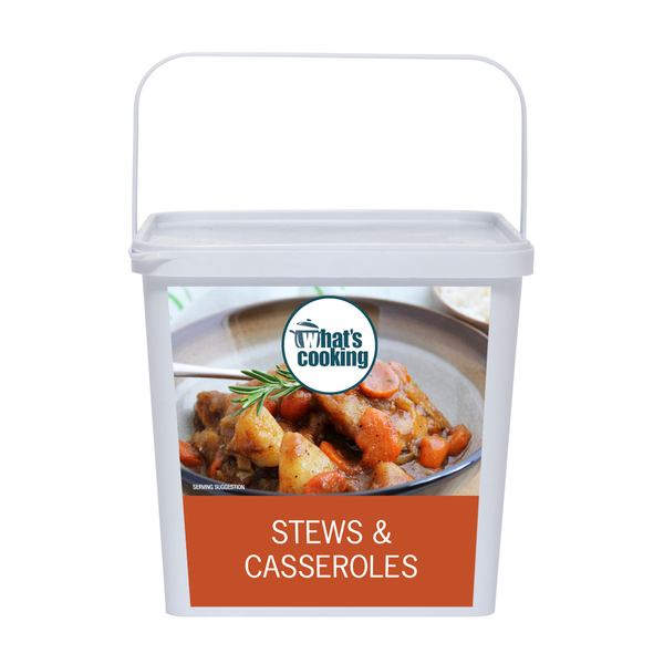 Stews assorted front