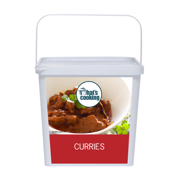 Curries assorted front