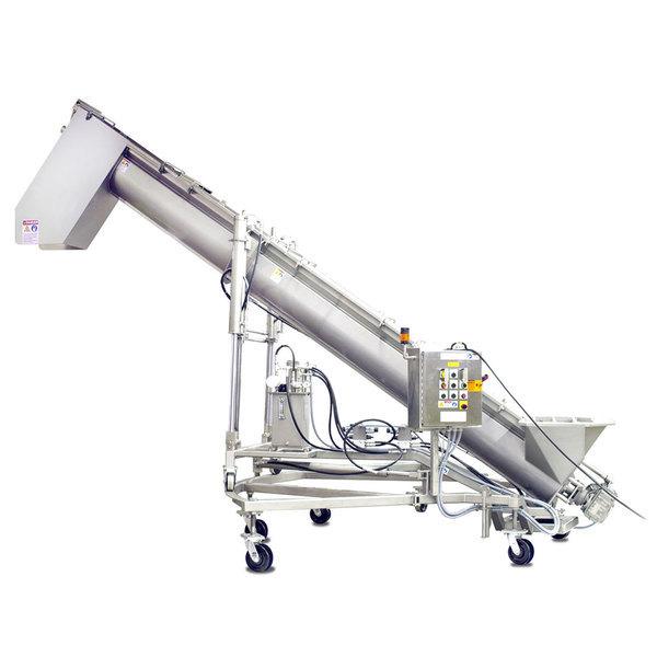Cozzini CSC Hydraulic Screw Conveyor