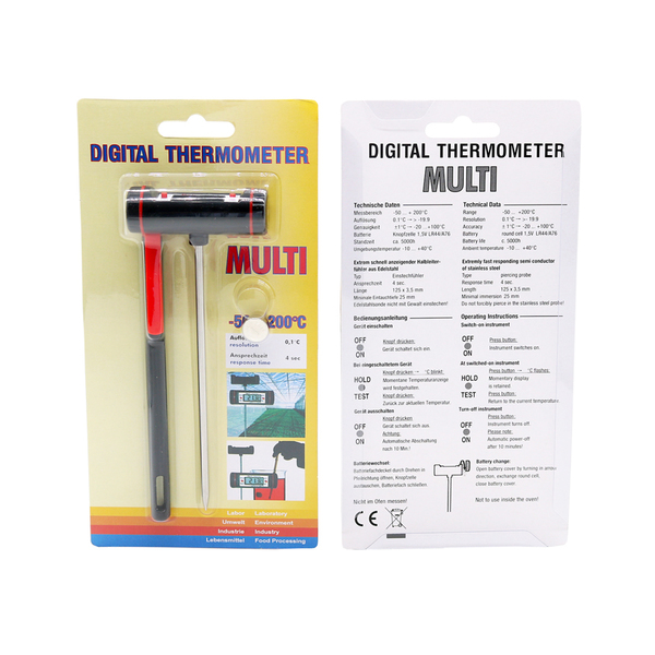 Digital thermometer smaller