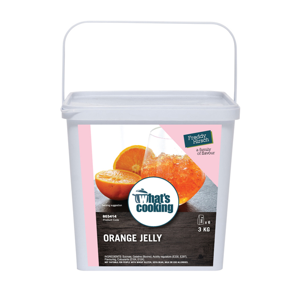 What's Cooking Orange Jelly Tub