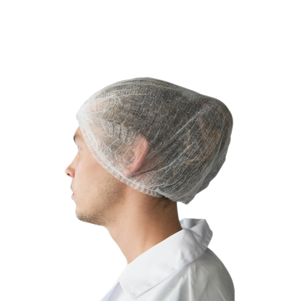 Disposable Hair Nets - White