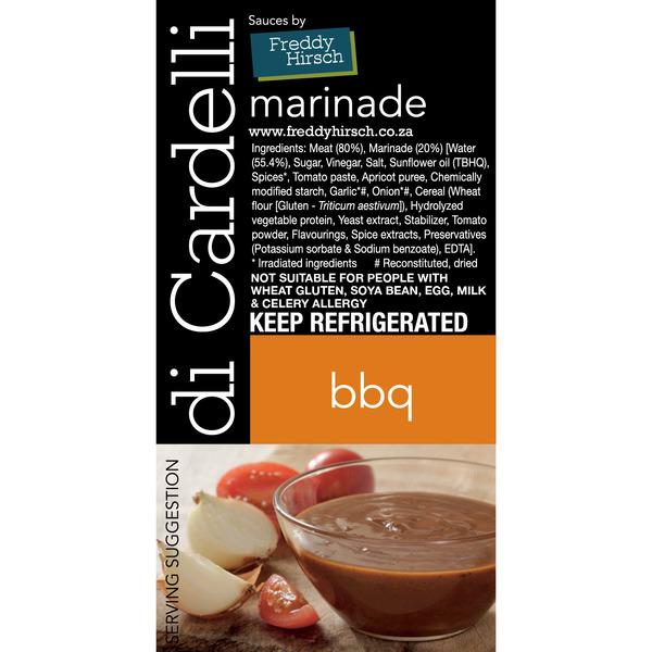 Di Cardelli BBQ Label
