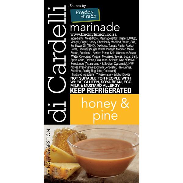 Di Cardelli Honey & Pine Label