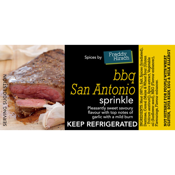 BBQ San Antonio Label