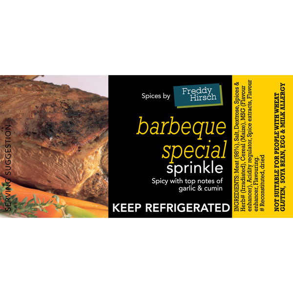 Barbeque Special Label
