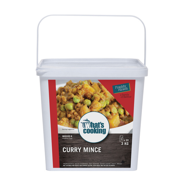 What's Cooking Curry Mince Tub